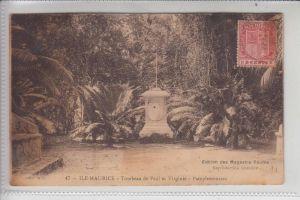 MAURITIUS, Tombeau de Paul & Virginie, Pampelmousses 1921