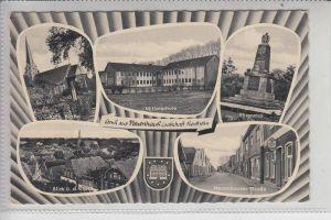 4459 UELSEN - NEUENHAUS, Mehrbildkarte Ende 50er Jahre