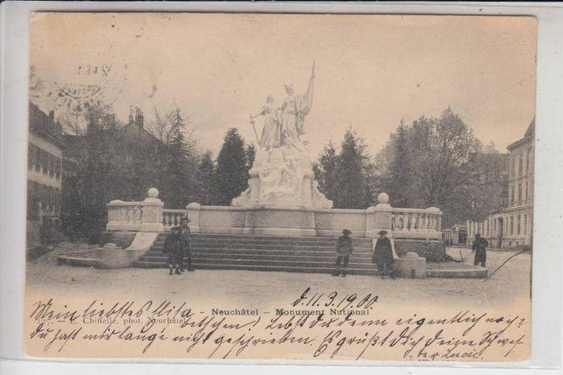 CH 2000 NEUENBURG, Monument Natinal 1900
