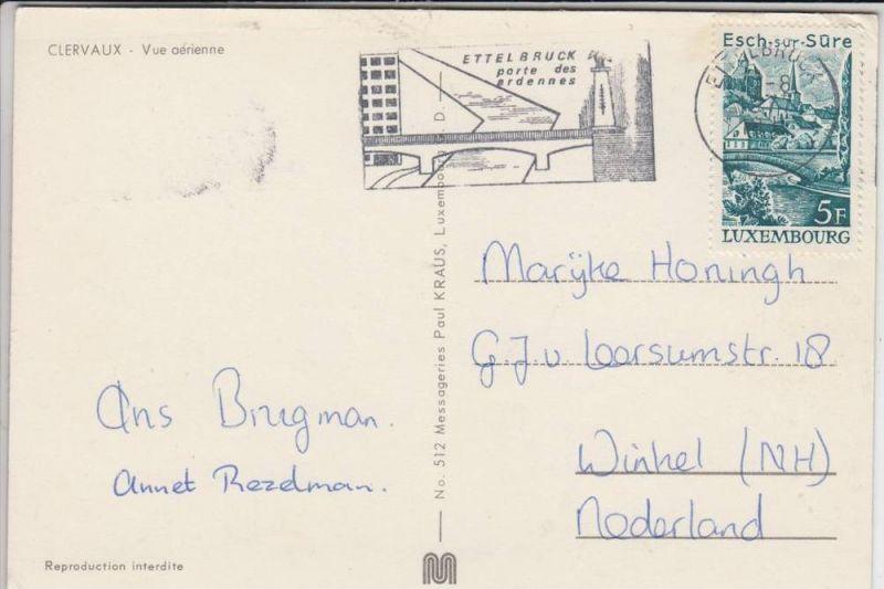 BRÜCKE, postmark Ettelbrück / Lux. 1977