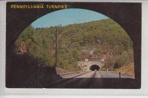 TUNNEL - Pennsylvania Turnpike 1966