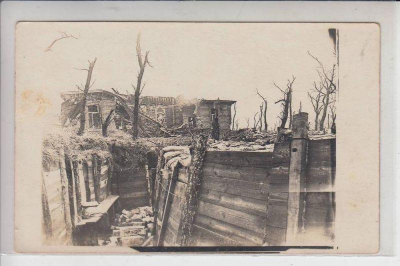 MILITÄR - 1.Weltkrieg - Schützengraben - Photo-AK