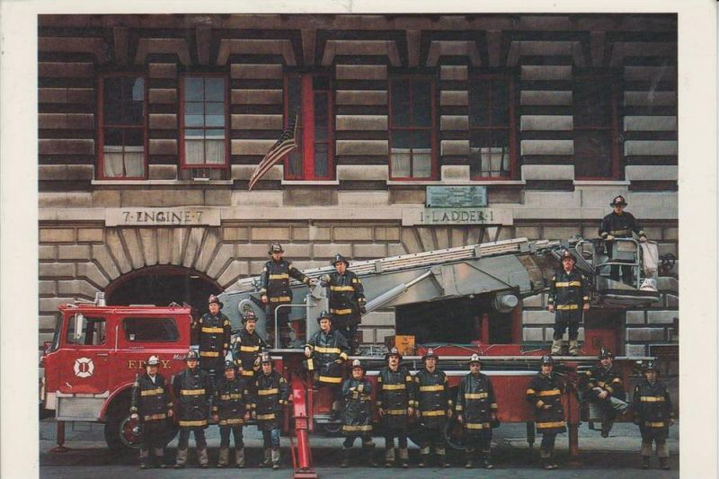 FEUERWEHR - New York City Fire Dept. 1973