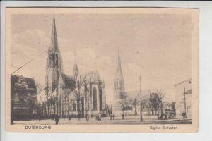 4100 DUISBURG, Eglise Salvator, franz. Besatzungszeit