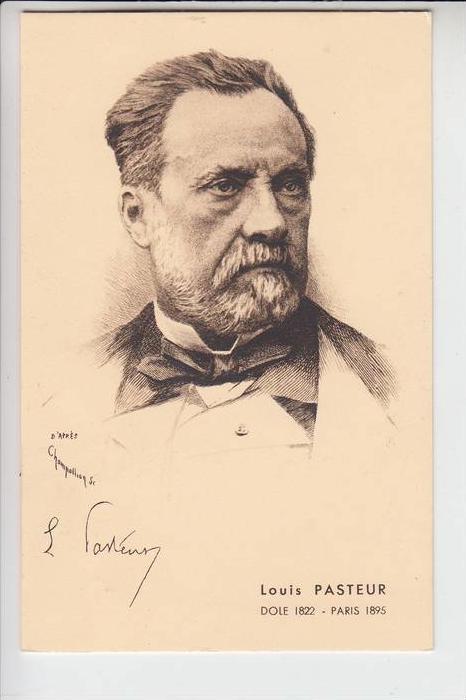 MEDIZIN - LOUIS PASTEUR 1822 - 1895, Porträt