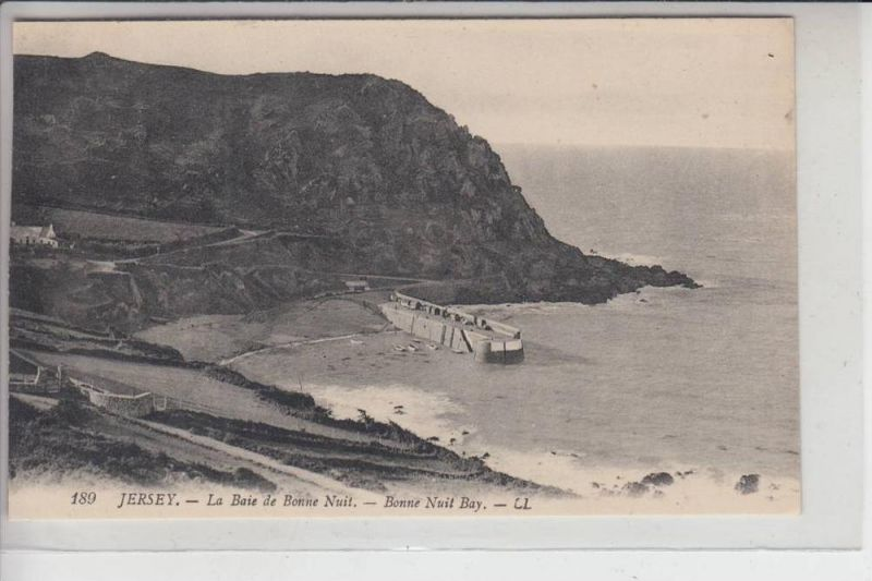 UK - ENGLAND - CHANNEL ISLANDS -JERSEY - Bonnen Nuit Bay, Louis Levy # 180