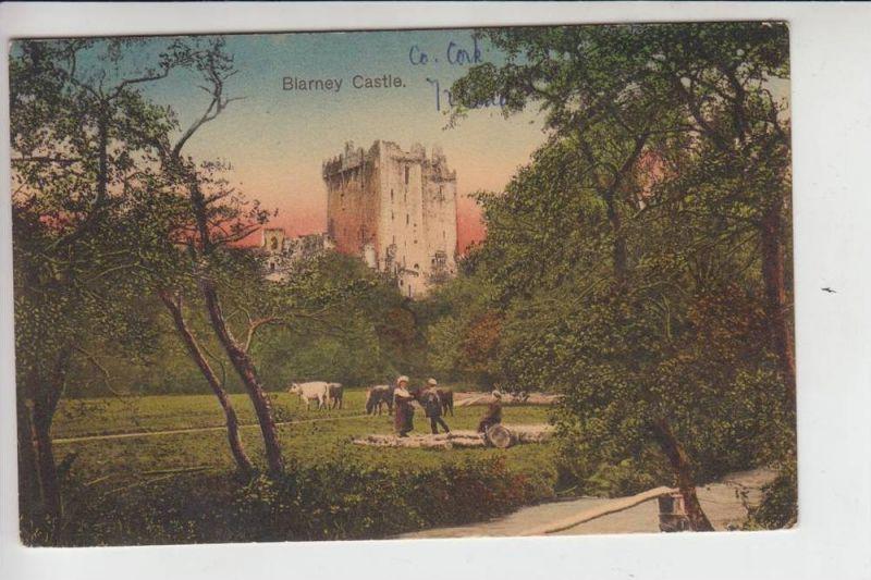 IRL - BLARNEY CASTLE 1913, stamp missing