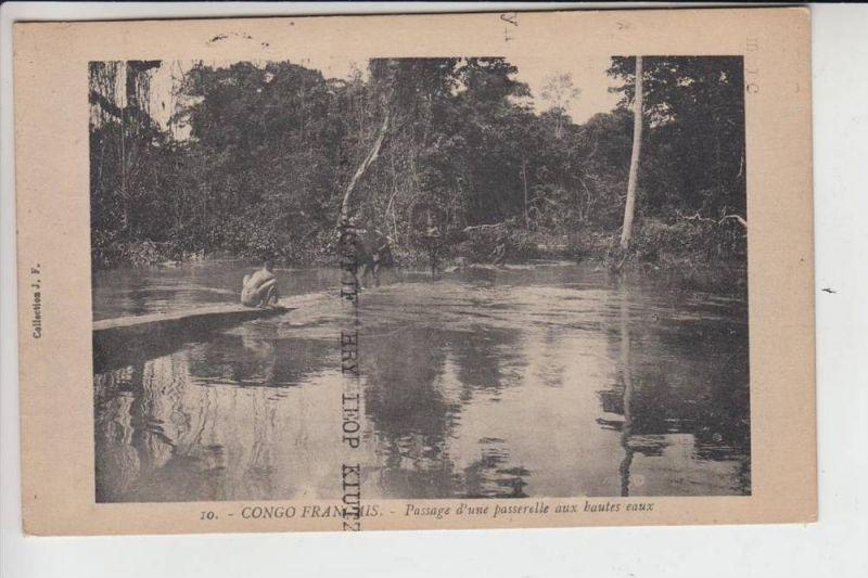KONGO REPUBLIK, BRAZZAVILLE, Franz.Congo 1921 Brazzaville