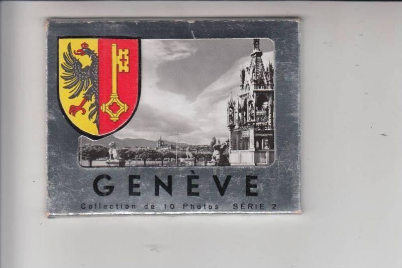CH 1200 GENF - GENEVE, Kleinbild-Leporello 10 Photos
