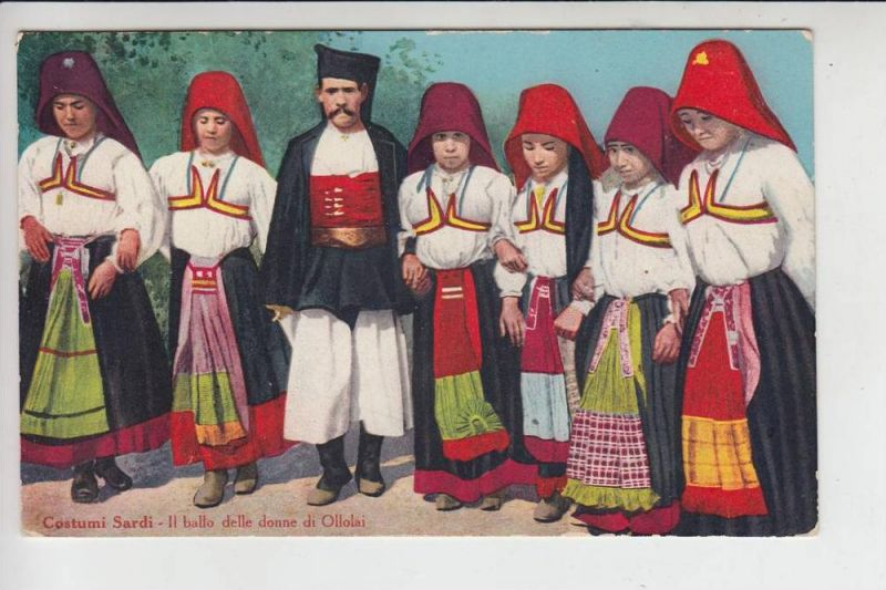 I - SARDEGNA - Costumi Sardi, il bello delle donne di Ollolai