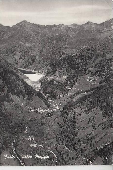 CH 6692 LAVIZZARA - FUSIO, Valle Maggia 1962