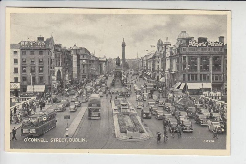 IRL - DUBLIN, O'CONNELL STREET 1955