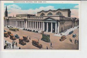 EISENBAHN - BAHNHOF - Station - La Gare - Pennsylvania Station, New York City