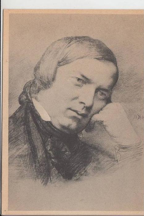 MUSIK - KOMPONIST - SCHUMANN, Alexander Robert 1810 Zwickau - 1856 Bonn-Endenich
