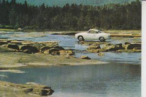AUTO - VOLKSWAGEN - VW - Karmann Ghia - Werbekarte VW
