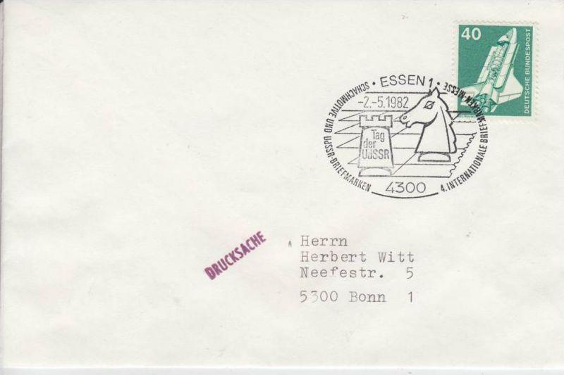 SPORT - SCHACH - Sonderstempel - special postmark - Essen - Tag der UdSSR