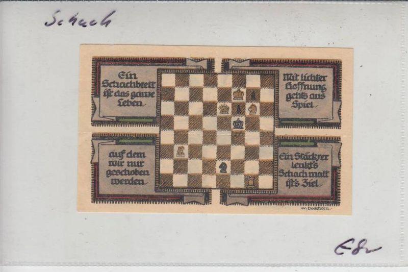 SPORT - SCHACH - Notgeld Königsaue 1921