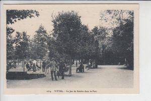 SPORT - BOULE - Vittel , le Parc