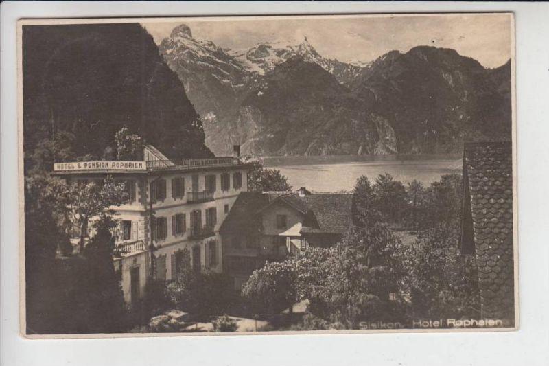 CH 6452 SISIKON UR, Hotel Rophaien 1927