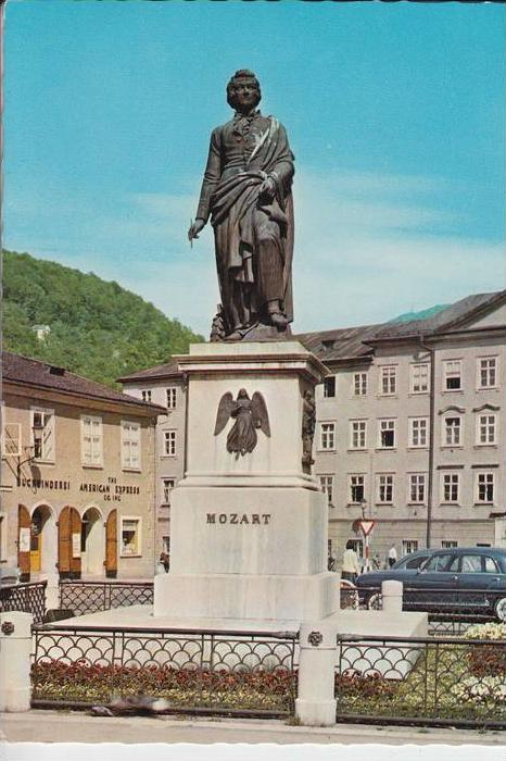 MUSIK - KOMPONIST - MOZART - Denkmal Salzburg