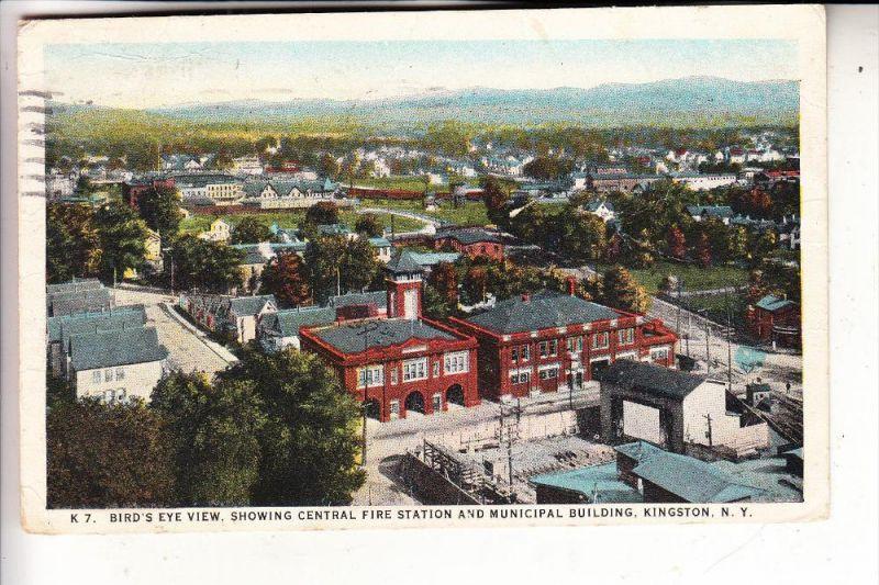 FEUERWEHR / Firefighters / Sapeur Pompier / Brandweer, Fire Station, Kingston N.Y., 1928