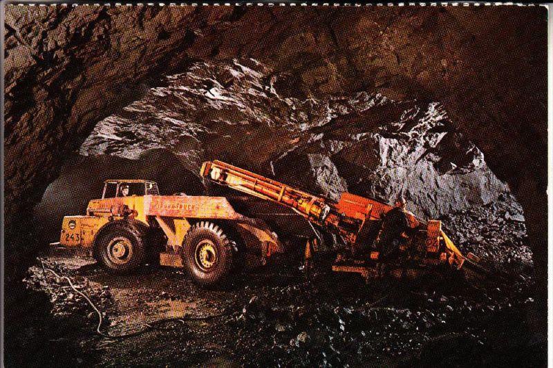 BERGBAU / mining, LKAB underground mine Kiruna