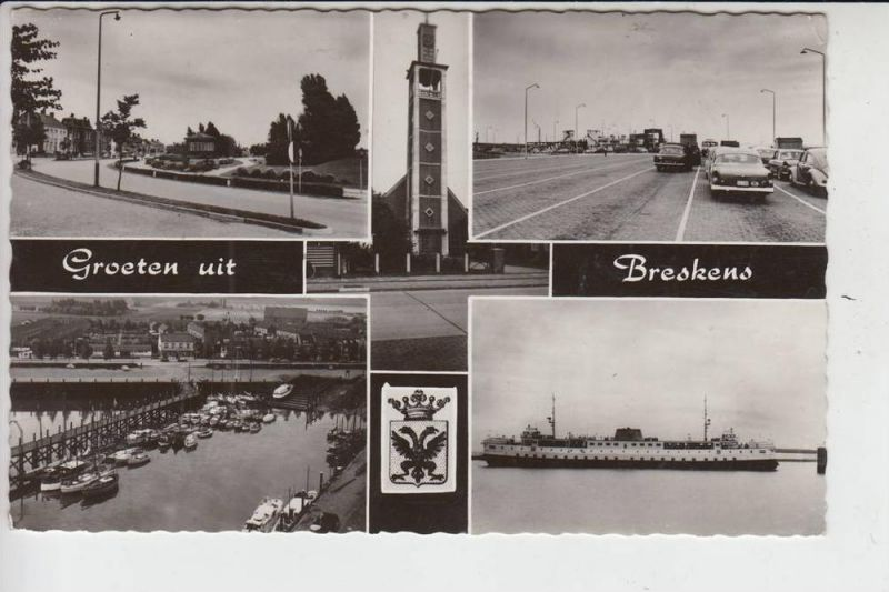 NL - ZEELAND - SLUIS - BRESKENS, Groeten uit, 196...