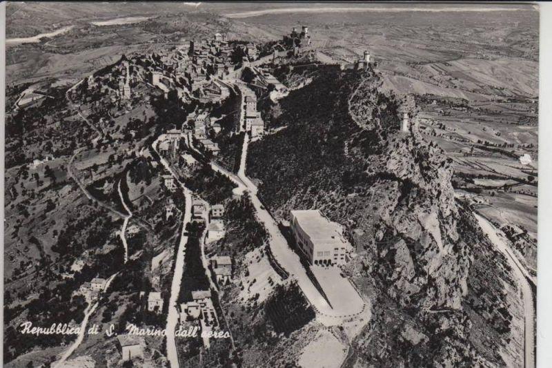 RSM SAN MARINO dall aereo 1952, AF  - kl.Knick & Einriss