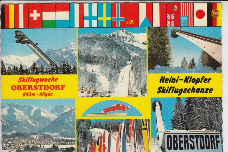 SPORT - WINTERSPORT - 6.SKIFLUG WELTMEISTERSCHAFT Oberstdorf 1981