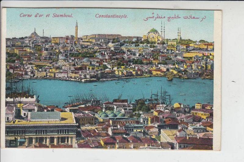 TR - KONSTANTINOPEL - Corne d'or et Stamboul