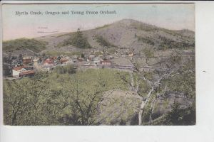 USA - OREGON - MYRTLE CREEK and Young Prune Orchard 1919