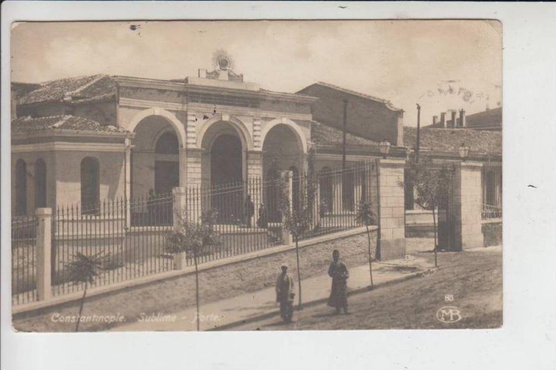 TR - KONSTANTINOPEL - Sublime - Porte 1931
