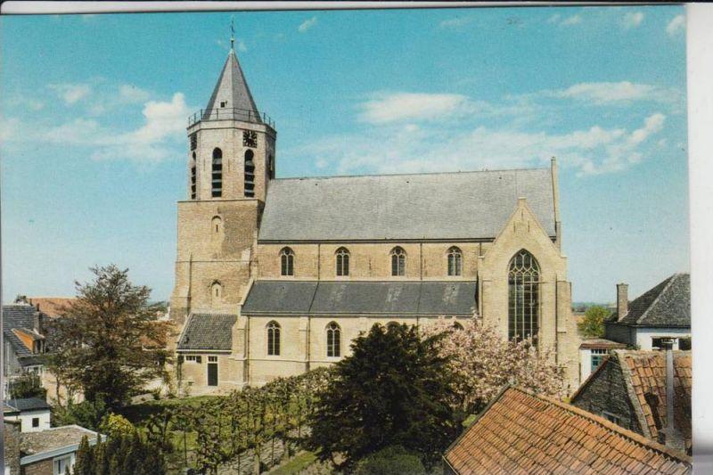 NL - ZEELAND - THOLEN - POORTVLIET, N.H. Kerk