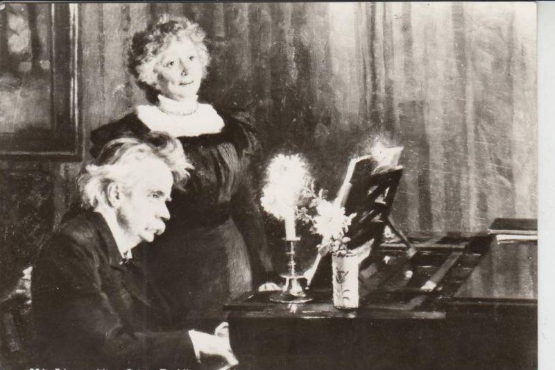 MUSIK - KOMPONIST - Grieg, Edv. og Nina Grieg, Troldhaugsen - Oslo - Norge - Norwegen