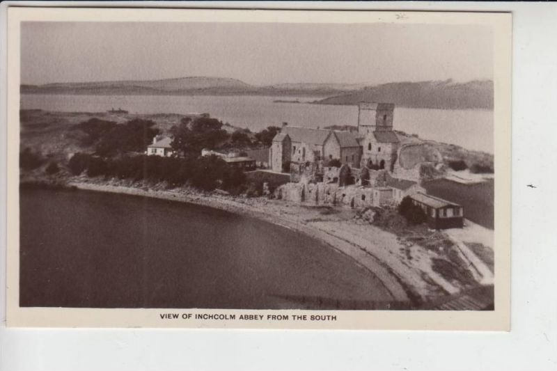 UK - SCOTLAND - FIFE - View of Inchcolm Abbey from the South