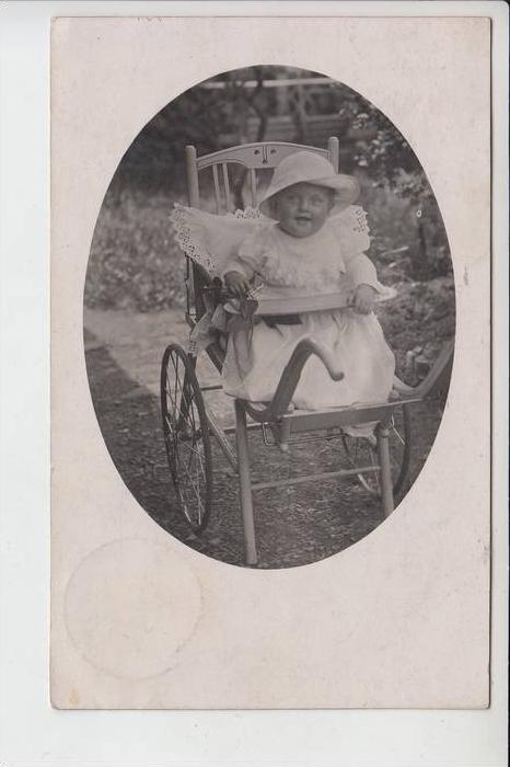 KINDER - Kinderwagen - landau - pram - cochecito - carrozzina Photo-AK 1912