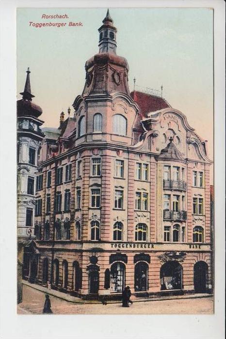 CH 9400 RORSCHACH, Toggenburger Bank