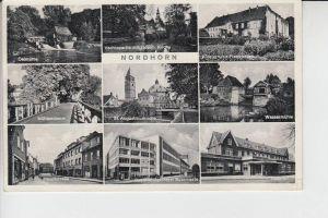 4460 NORDHORN, Mehrbildkarte, 50-er Jahre,