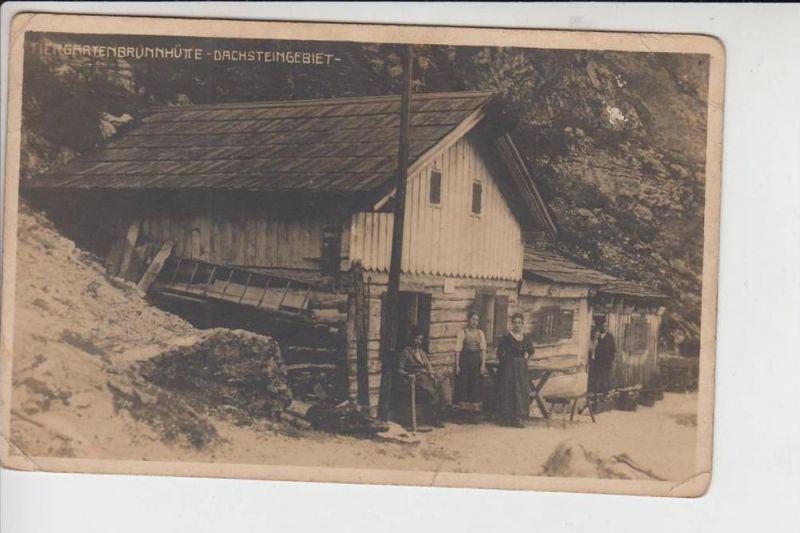 BERGHÜTTE - RIFUGIO - Mountain Hut - Refuge - Tiergartenbrunnhütte - Dachstein - Gosau