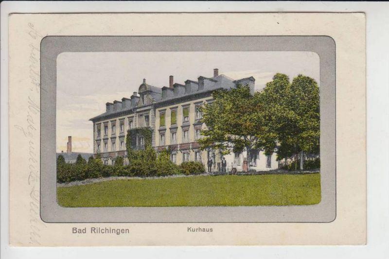 6601 RILCHINGEN, Kurhaus 1912 Farbe
