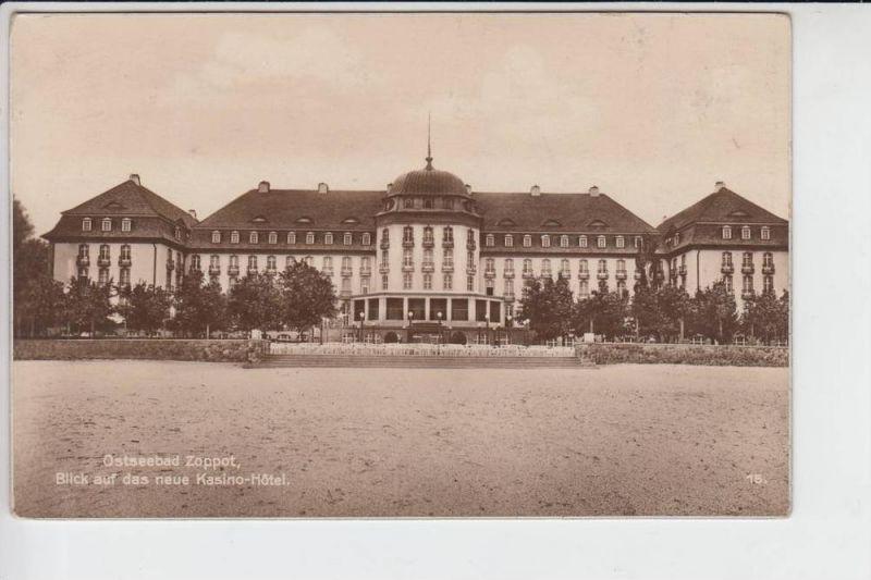 DANZIG - ZOPPOT, Das neue Kasino-Hotel