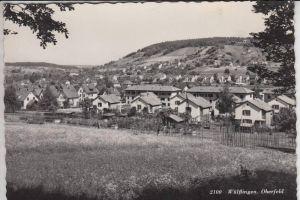 CH 8400 WINTERTHUR - WÜLFLINGEN, Oberfeld 1952, kl.Klebereste rückseitig