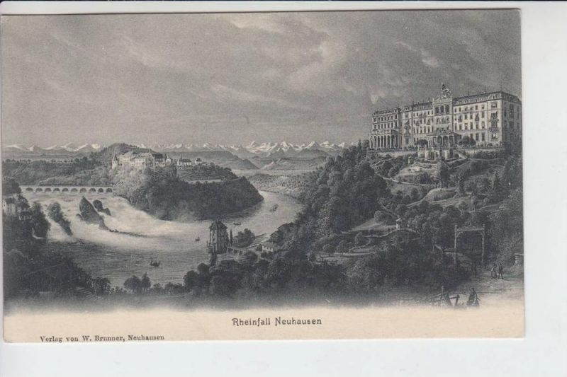 CH 8212 NEUHAUSEN - Rheinfall