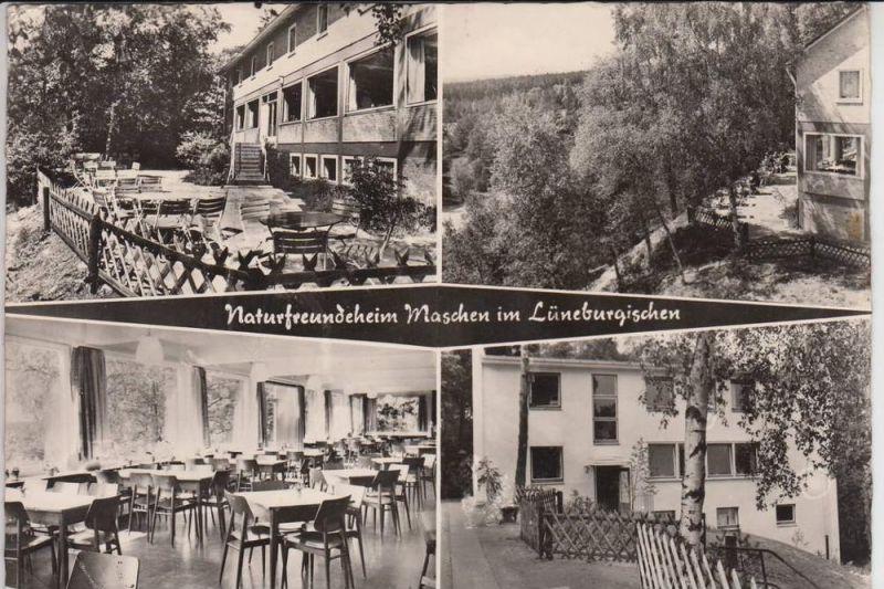 NATURFREUNDE - NFH - NFI - Naturfreundehaus Maschen im Lüneburgischen 196...
