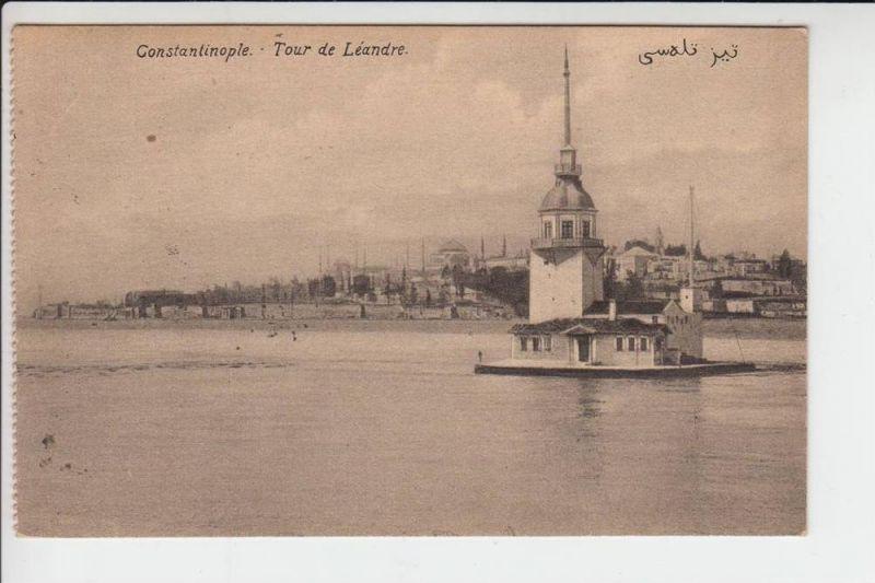 TR - CONSTANTINOPLE - Tour de Leandre 1915