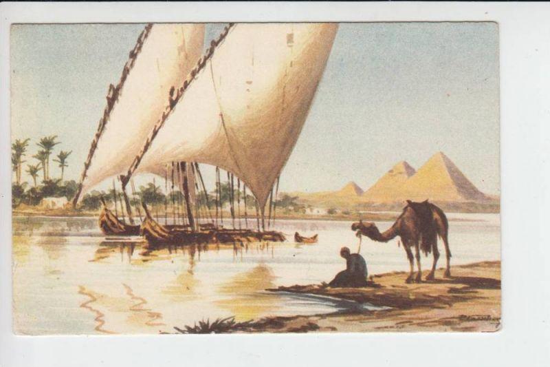 EGYPT - Nile Sailing Boats
