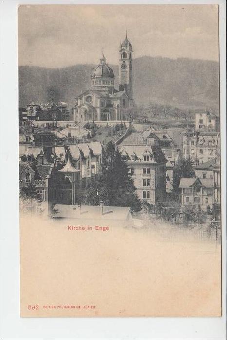 CH 8000 ZÜRICH - ENGE, Kirche in Enge