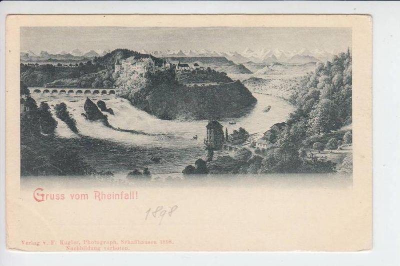 CH 8212 RHEINFALL 1898