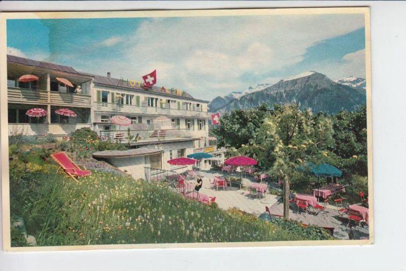 CH 8784 BRAUNWALD, Hotel Alpina 1963