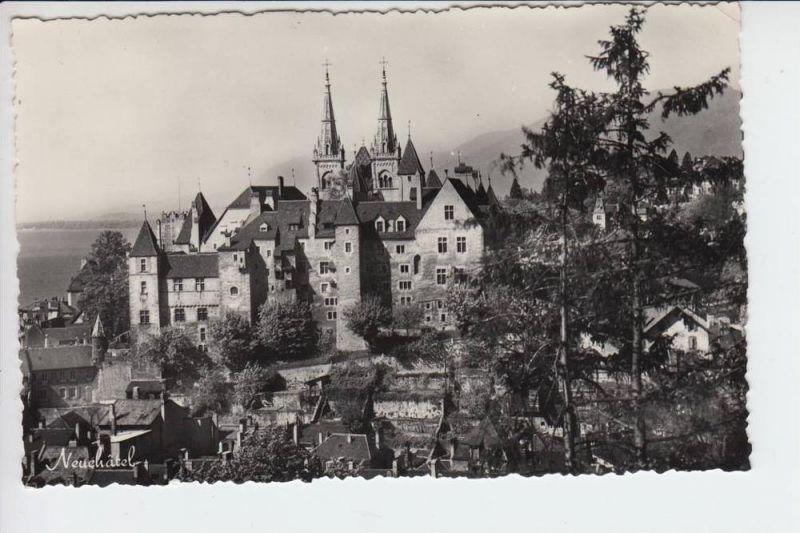 CH 2000 NEUENBURG, Ortsansicht 1959